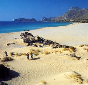 Fallasarna - one of the most beautiful beaches in all of Crete